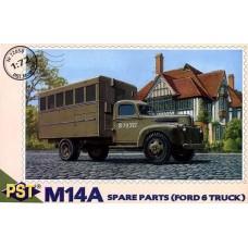 PST 1/72 Американский мобильный склад запасных частей М14А на базе автомобиля Форд 6. № 72058