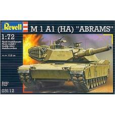 """Revell 1/72 Американский основной боевой танк M1 A1 (HA) """"Abrams"""". № 03112"""