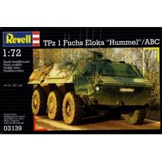 """Revell 1/72 Немецкая бронетранспортёр TPz A1 Fuchs Eloka """"Hummel""""/ABC. № REV_03139"""
