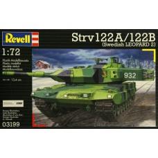Revell 1/72 Revell 1/72 Шведский основной боевой танк Strv 122A/122B (Swedish Leopard 2). № REV_03199