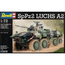 Revell 1/72 Немецкий разведывательный бронетранспортёр SpPz2 LUCHS A2 (Bundeswehr). № REV_03208