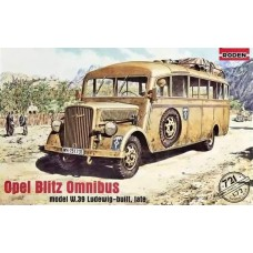 Roden 1/72 Немецкий штабной автобус Opel Blitz Omnibus Model W39 Ludewig-built, поздних выпусков. № 721