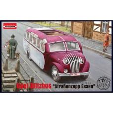 """Roden 1/72 Немецкий автобус Opel Blitz """"Strassenzepp Essen"""" omnibus. № 725"""