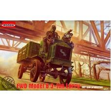 Roden 1/72 Американский грузовой автомобиль FWD Model B 3-ton Lorry (1917 type production). № 733