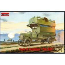 Roden 1/72 Британский автобус Type B Omnibus Ole Bill (Первая Мировая Война). № 732