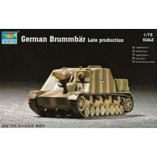 "Trumpeter 1:72 Немецкая САУ Sd. Kfz. 166 Stu.Pz IV ""Brummbar"" Late Production. № 07212"