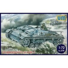UM 1/72 Немецкое штурмовое орудие III Ausf. E. № 278