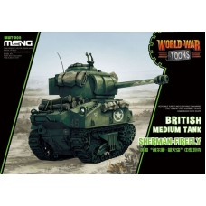 Meng Model Британский (американский) средний танк Sherman-Firefly. № WWT-008