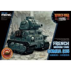 Meng Model Французский средний танк Somua S35. № WWT-009