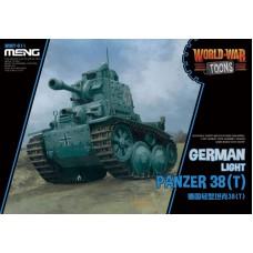 Meng Model Немецкий лёгкий танк Panzer 38(t). № WWT-011