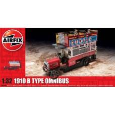 Airfix 1:32 Английский автобус 1910 B Type Omnibus. № a06443