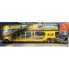 AMT ERTL 1:25 Американский прицеп Haulaway для перевозки 5-ти легковых автомобилей. № 1193