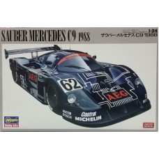 Hasegawa 1:24 Спорткар Sauber Mercedes C9 1988 (Limited Edition). № 20273