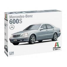 Italeri 1/24 Автомобиль Mercedes Benz 600S. № 3638