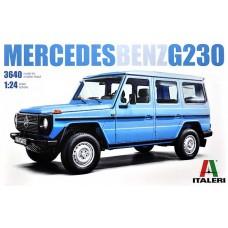 Italeri 1/24 Автомобиль Mercedes-Benz G230. № 3640