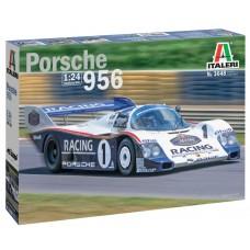 Italeri 1/24 Cпортивный автомобиль Porsche 956. № 3648
