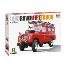 Italeri 1/24 Пожарный автомобиль Land Rover. № 3660
