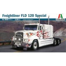Italeri 1/24 Американский тягач Freightliner FLD 120 Special. № 3925