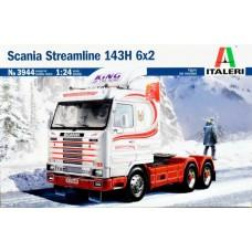 Italeri 1/24 Седельный тягач Scania Streamline 143H 6x2. № 3944