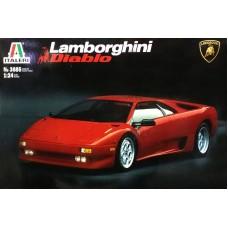 Italeri 1/24 Итальянский автомобиль Lamborghini Diablo. № ITA_3685