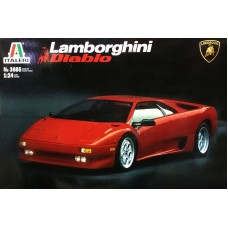 Italeri 1/24 Итальянский автомобиль Lamborghini Diablo. № 3685