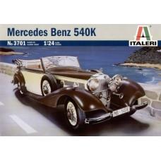 Italeri 1/24 Немецкий автомобиль Mercedes-Benz 540K. № 3701