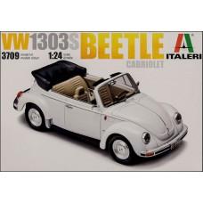 Italeri 1/24 Немецкий автомобиль Volkswagen New Beetle Cabrio. № 3709