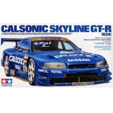 Tamiya 1:24 Спорткар Calsonic Skyline GT-R (R34) Racer. № 24219