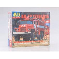 AVD Models 1:43 Пожарная автоцистерна АЦ-40 (375) Ц1А. № 1298KIT