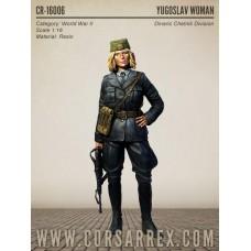 Corsar Rex 1/16 Югославская женщина-солдат (Динарская дивизия четников). № COR_CR-16006