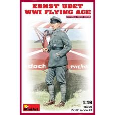 Miniart 1/16 Эрнст Удет, германский ас Первой Мировой войны. № 16030