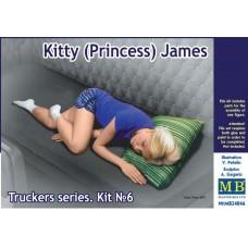 Master Box 1/24  Truckers серия: Набор № 6. Китти (Принцесса) Джеймс. № 24046