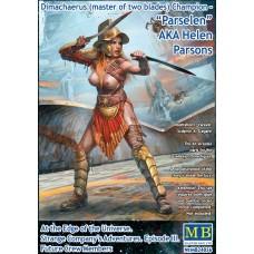 """Master Box 1/24  Димахер (гладиатор с двумя мечами) Чемпион - """"Парселен"""", aka Хелен Парсонс. № 24056"""