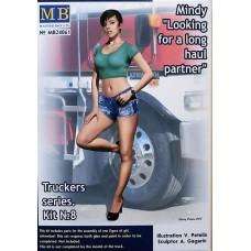 """Master Box 1/24  Truckers серия: Набор № 8. Минди, """"В поисках партнёра для длительной поездки"""".  № 24061"""