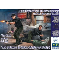 """Master Box 1/24 Братья Джонсон (Бобби и Билли), Набор № 2 Серии """"Ограбление"""". № 24065"""