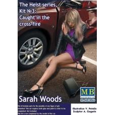 """Master Box 1/24 Сара Вудс. Ранена в перестрелке, Набор № 3 Серии """"Ограбление"""". № 24066"""