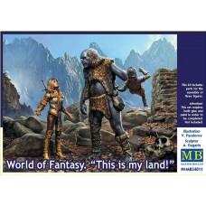 Master Box 1/24 Мир Фэнтези: Это моя земля! № 24011