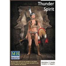 Master Box 1/24  Native American серия: Коренные народы Америки - Душа Грома. № MRB_24019