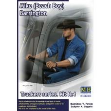 Master Box 1/24  Truckers серия: Набор № 4. Майк (Пляжник) Баррингтон. № MRB_24044