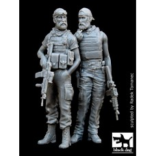 Black Dog 1/35 Американские солдаты спецназа в Афганистане (2 фигуры). № F35003
