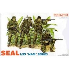 Dragon 1/35 Американское Морские Котики (Seal), серия Вьетнам. № DRA_3302