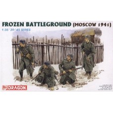 """Dragon 1/35 Немецкая пехота под Москвой, 1941 """"Frozen Battleground"""". № 6190"""