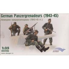 ICM 1/35 Alanger Немецкие панцергренадёры (1943-1945гг.). № 035247