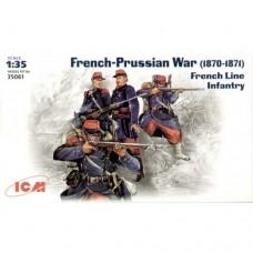 ICM 1/35 Французская линейная пехота 1870-1871гг. № 35061