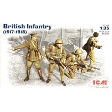 ICM 1/35 Британская пехота (1917-1918гг.). № 35301