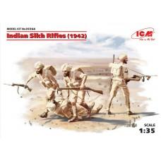ICM 1/35 Индийские сикхские стрелки (1942 год). № 35564