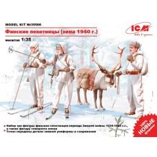 ICM 1/35 Финские пехотинцы (зима 1940 г.). № ICM_35566
