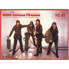 ICM 1/35 Немецкие пожарные Второй Мировой войны. № 35632