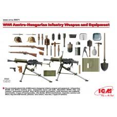 ICM 1/35 Вооружение и снаряжение пехоты Австро-Венгрии Первой Мировой Войны. № 35671