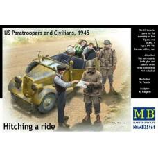 Master Box 1/35 Американские солдаты и гражданские, 1945. № 35161